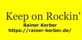 "Rainer Kerber – Walk In Darkness  ""In The Shadows Of Things"""